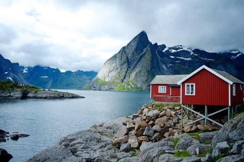Haus Norwegen